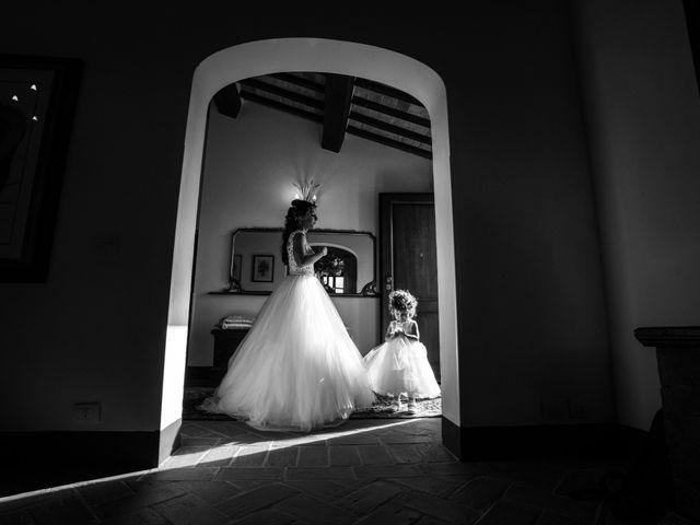 Il matrimonio di Sara e Giovanni a Pienza, Siena 1