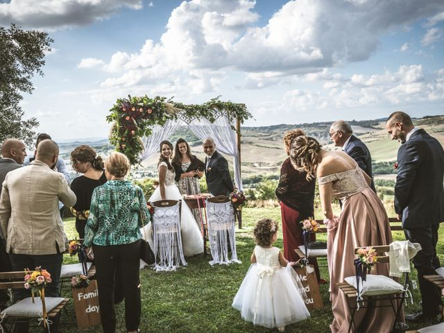 Il matrimonio di Sara e Giovanni a Pienza, Siena 13