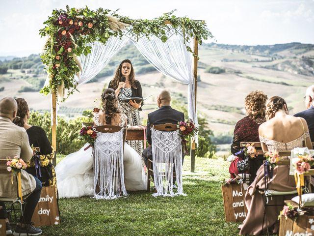 Il matrimonio di Sara e Giovanni a Pienza, Siena 14