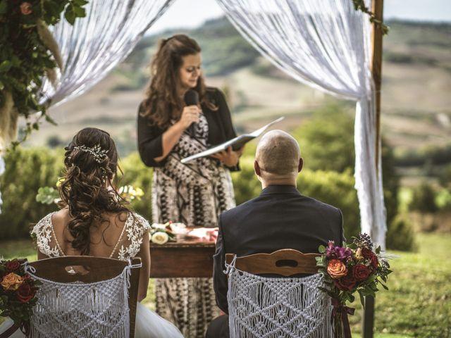 Il matrimonio di Sara e Giovanni a Pienza, Siena 15