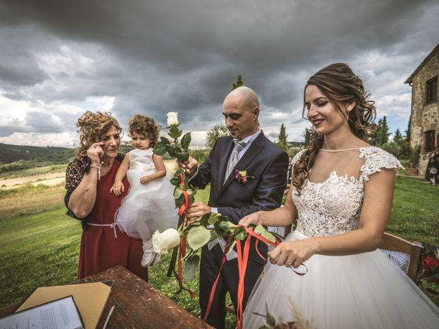 Il matrimonio di Sara e Giovanni a Pienza, Siena 18