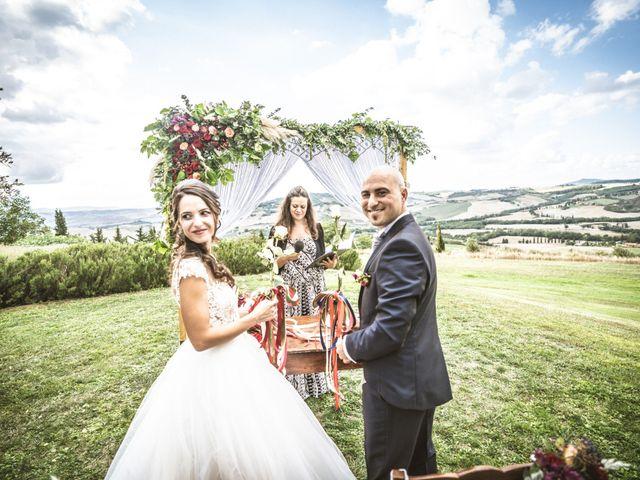 Il matrimonio di Sara e Giovanni a Pienza, Siena 19