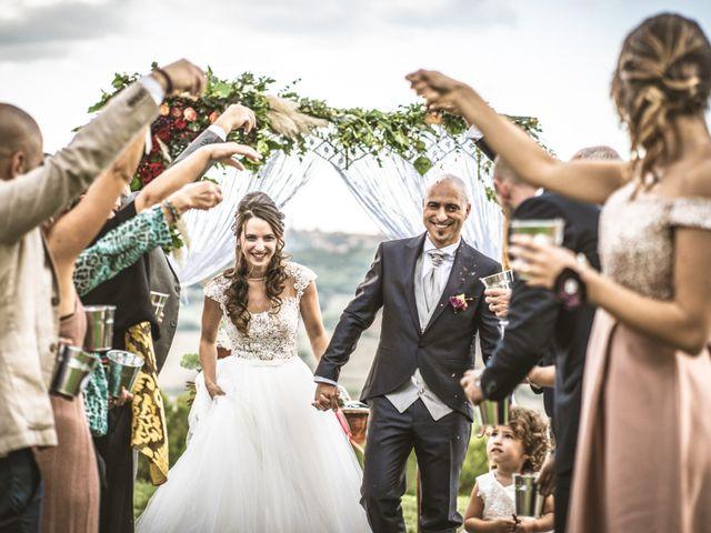 Il matrimonio di Sara e Giovanni a Pienza, Siena 21