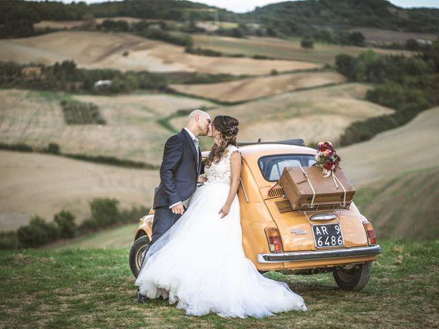 Il matrimonio di Sara e Giovanni a Pienza, Siena 29