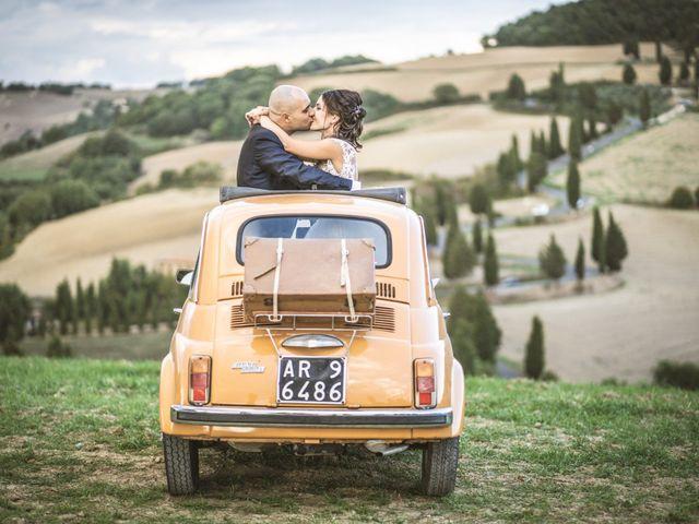 Il matrimonio di Sara e Giovanni a Pienza, Siena 31