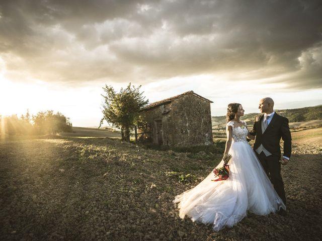 Il matrimonio di Sara e Giovanni a Pienza, Siena 34