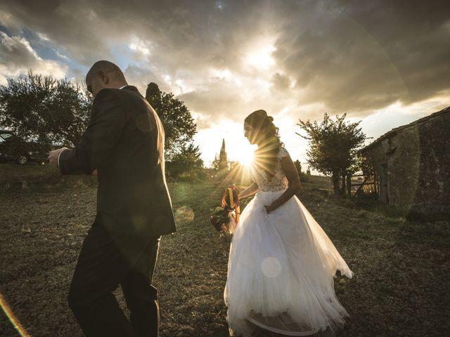 Il matrimonio di Sara e Giovanni a Pienza, Siena 35