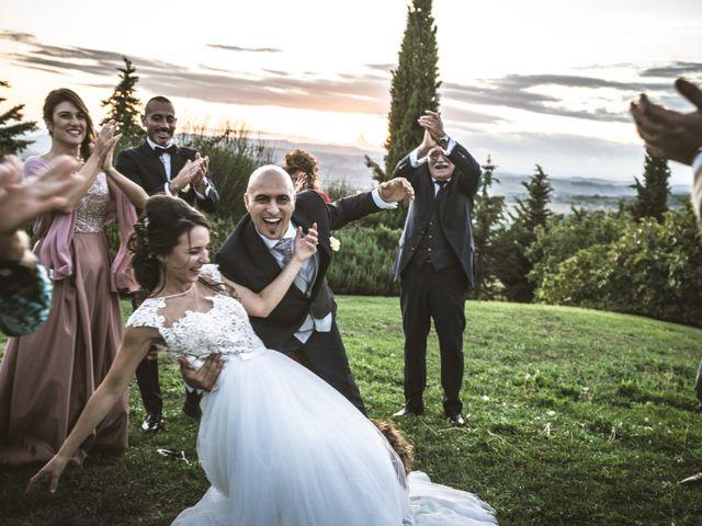 Il matrimonio di Sara e Giovanni a Pienza, Siena 38
