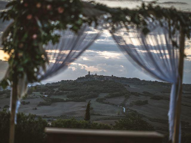 Il matrimonio di Sara e Giovanni a Pienza, Siena 39