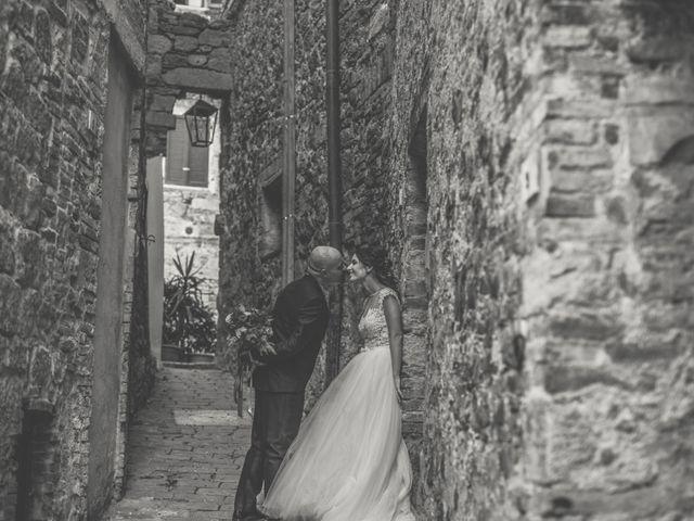 Il matrimonio di Sara e Giovanni a Pienza, Siena 63