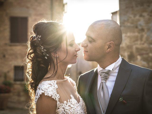 Il matrimonio di Sara e Giovanni a Pienza, Siena 64
