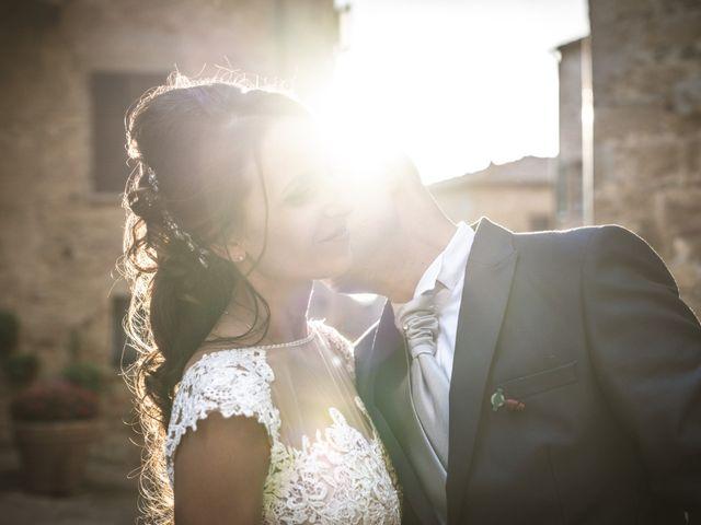 Il matrimonio di Sara e Giovanni a Pienza, Siena 65