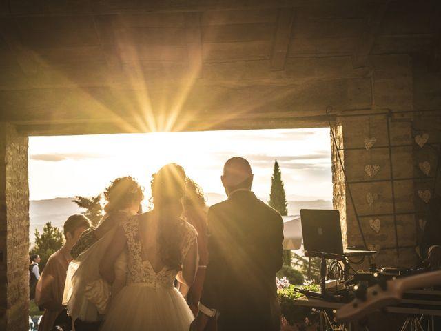 Il matrimonio di Sara e Giovanni a Pienza, Siena 67
