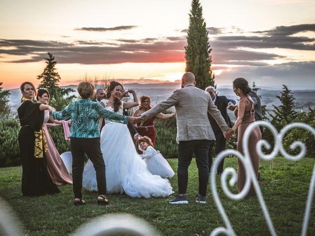 Il matrimonio di Sara e Giovanni a Pienza, Siena 71