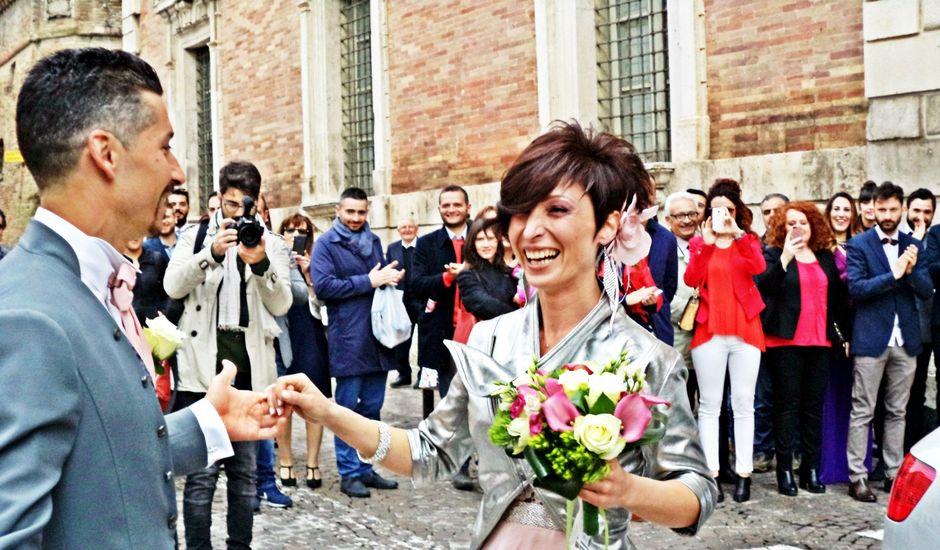 Il matrimonio di Silvia e Andrea a Osimo, Ancona