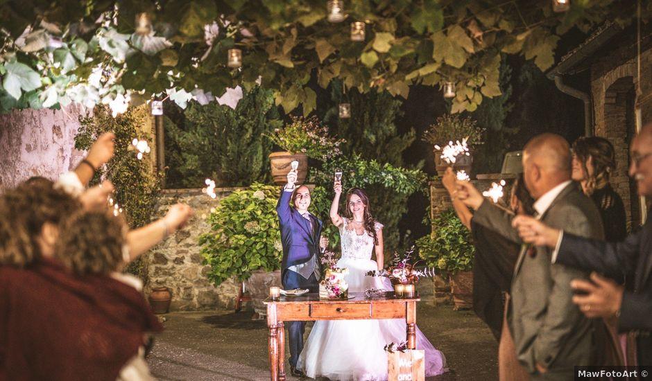 Il matrimonio di Sara e Giovanni a Pienza, Siena