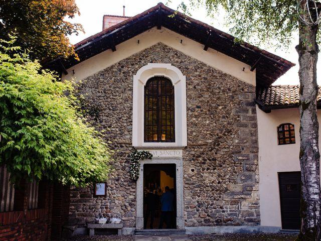 Il matrimonio di Paolo e Michela a Comignago, Novara 16
