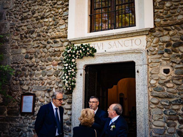 Il matrimonio di Paolo e Michela a Comignago, Novara 17