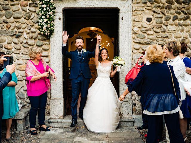 Il matrimonio di Paolo e Michela a Comignago, Novara 29
