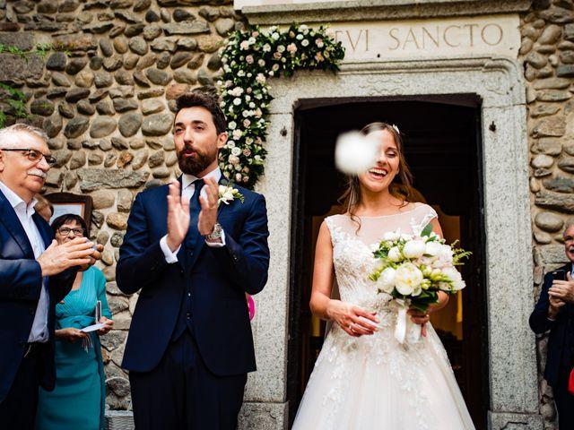 Il matrimonio di Paolo e Michela a Comignago, Novara 30