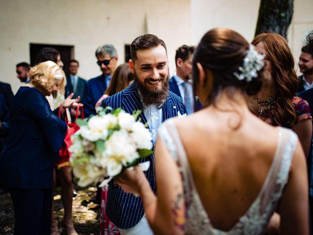 Il matrimonio di Paolo e Michela a Comignago, Novara 34