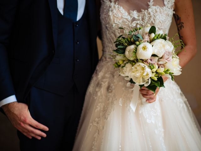 Il matrimonio di Paolo e Michela a Comignago, Novara 39