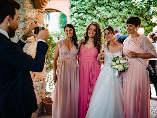 Il matrimonio di Paolo e Michela a Comignago, Novara 58