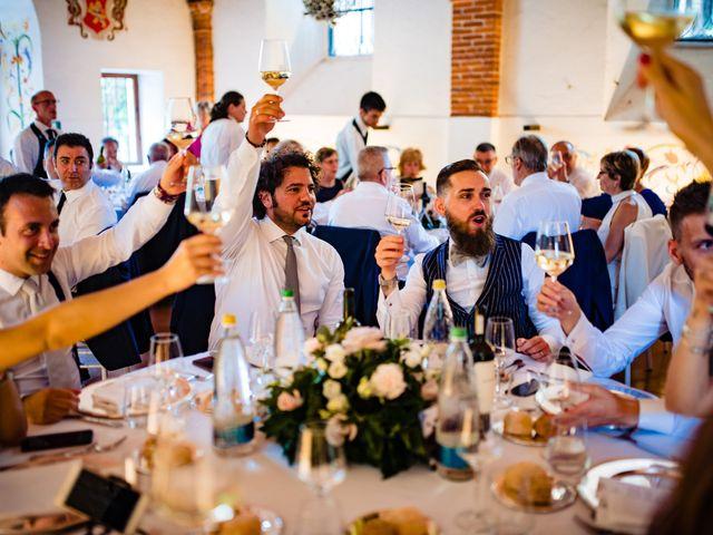 Il matrimonio di Paolo e Michela a Comignago, Novara 73