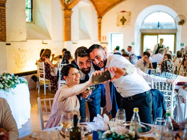 Il matrimonio di Paolo e Michela a Comignago, Novara 76