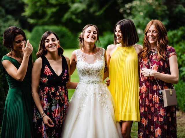 Il matrimonio di Paolo e Michela a Comignago, Novara 88