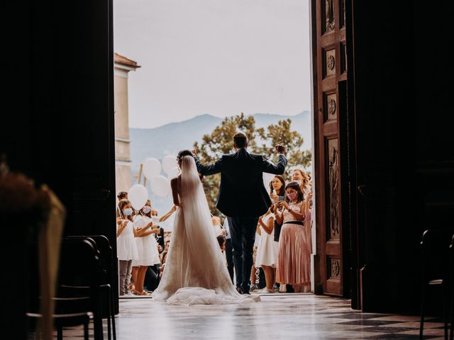 Il matrimonio di Simone e Sara a Lecco, Lecco 35