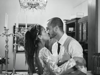 Le nozze di Monique e Alessio