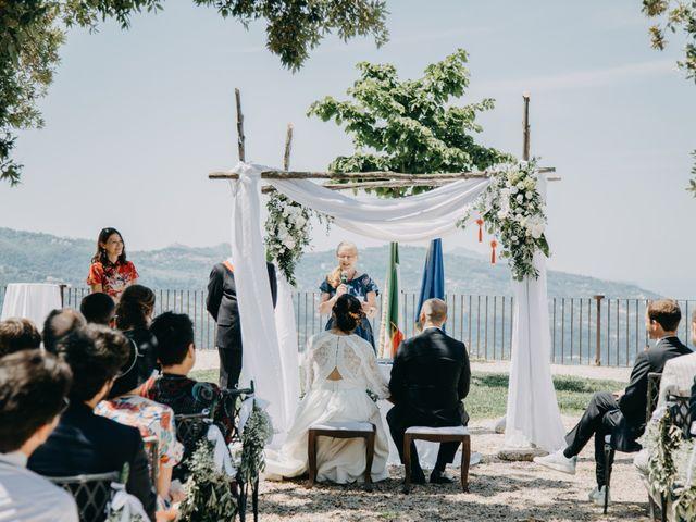 Il matrimonio di Fabio e Camille a Vico Equense, Napoli 15