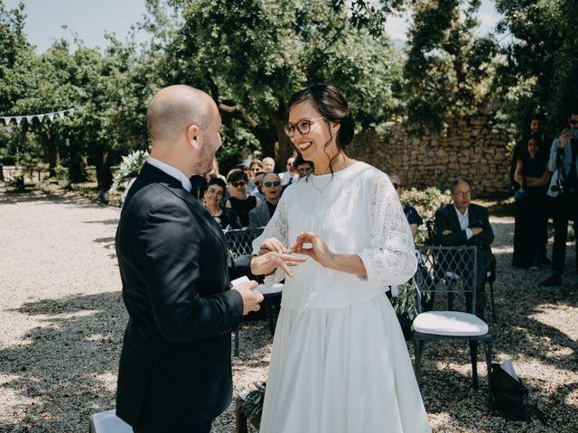 Il matrimonio di Fabio e Camille a Vico Equense, Napoli 20