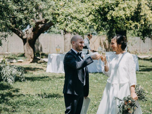 Il matrimonio di Fabio e Camille a Vico Equense, Napoli 22