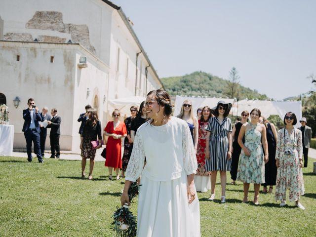 Il matrimonio di Fabio e Camille a Vico Equense, Napoli 23