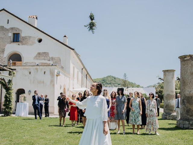 Il matrimonio di Fabio e Camille a Vico Equense, Napoli 24