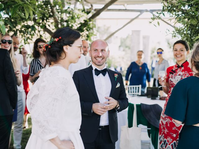 Il matrimonio di Fabio e Camille a Vico Equense, Napoli 36