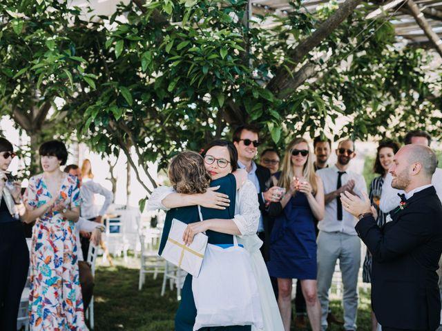 Il matrimonio di Fabio e Camille a Vico Equense, Napoli 37