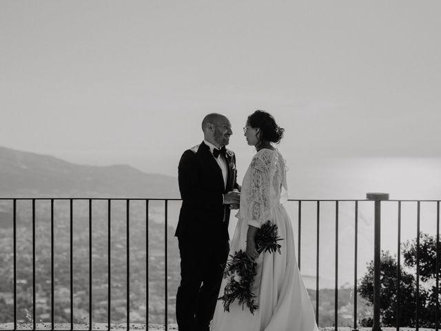 Il matrimonio di Fabio e Camille a Vico Equense, Napoli 54