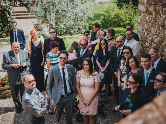 Il matrimonio di Gerald e Sabrina a San Casciano in Val di Pesa, Firenze 22