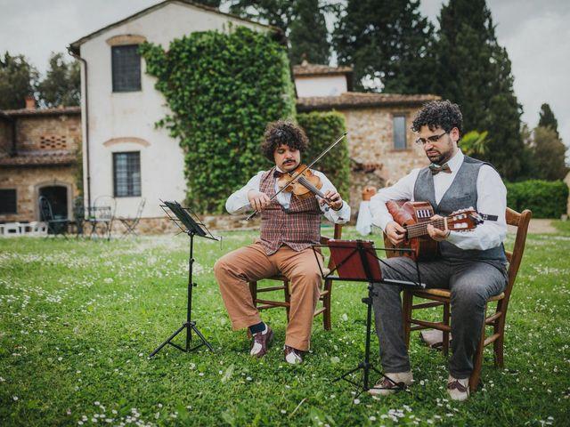 Il matrimonio di Gerald e Sabrina a San Casciano in Val di Pesa, Firenze 30