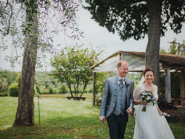 Il matrimonio di Gerald e Sabrina a San Casciano in Val di Pesa, Firenze 32