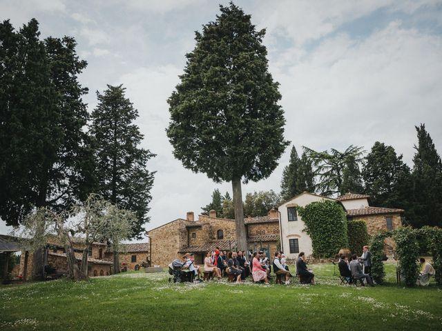 Il matrimonio di Gerald e Sabrina a San Casciano in Val di Pesa, Firenze 35