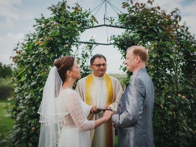 Il matrimonio di Gerald e Sabrina a San Casciano in Val di Pesa, Firenze 1