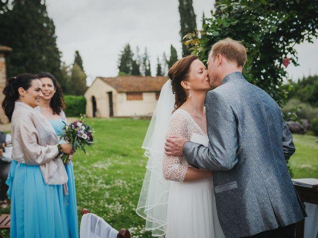 Il matrimonio di Gerald e Sabrina a San Casciano in Val di Pesa, Firenze 39