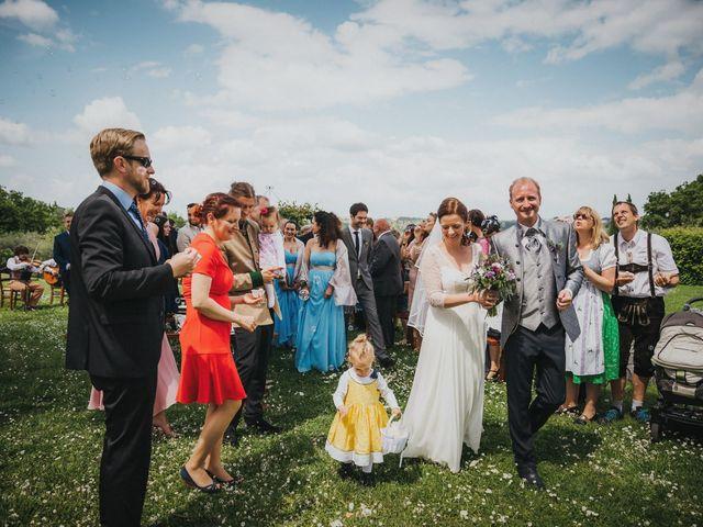 Il matrimonio di Gerald e Sabrina a San Casciano in Val di Pesa, Firenze 43