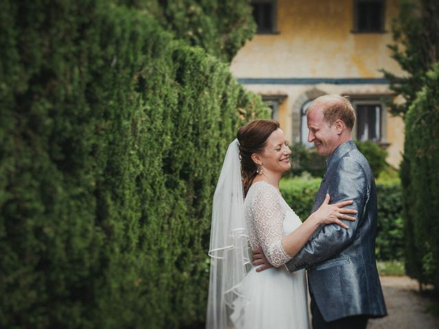 Il matrimonio di Gerald e Sabrina a San Casciano in Val di Pesa, Firenze 50