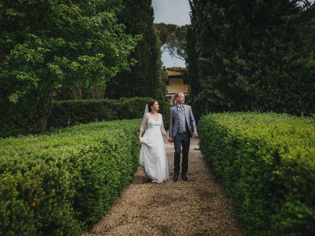 Il matrimonio di Gerald e Sabrina a San Casciano in Val di Pesa, Firenze 51