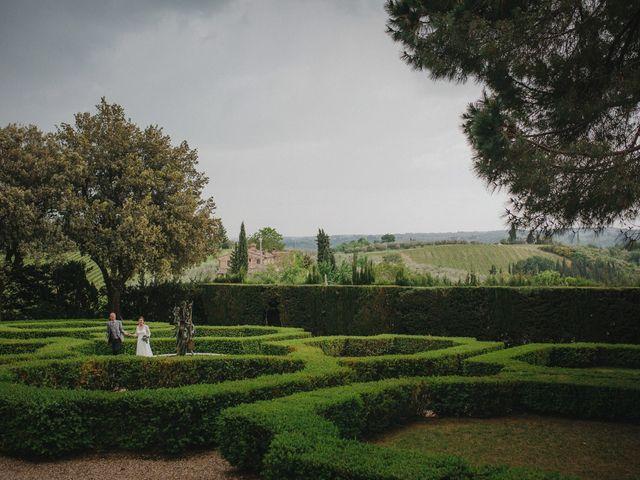 Il matrimonio di Gerald e Sabrina a San Casciano in Val di Pesa, Firenze 54